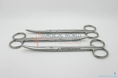 2 Mayo Dissecting Scissors Curved 6.75 Surgical Ent Instruments