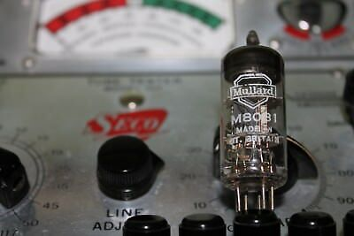 VALVE M8O81, IN GOOD CONDITION.Tested o/k.Maker Mullard.