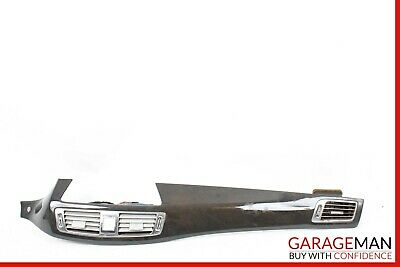 12-16 Mercedes W218 CLS500 Front Center Dash Instrument Panel Trim Assembly Wood