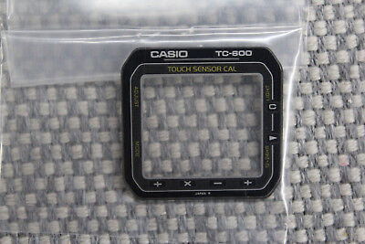 Casio TC-600 Vintage Crystal Touch Screen Calculator NOS RARE