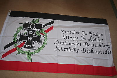 Fahne Flagge Eisernes Kreuz Kaiserreich Rauschet Ihr Eichen 150 x 90