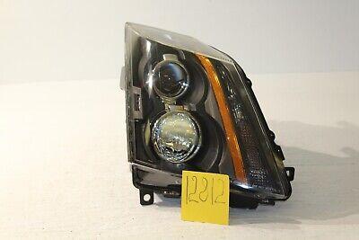 2008-2014 Cadillac CTS Halogen Passenger Headlight Head Lamp Light 12811