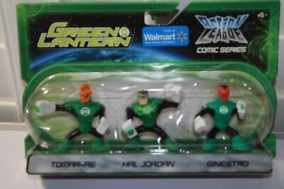 GREEN LANTERN TOMAR-RE, HAL JORDAN, SINESTRO  ACTION LEAGUE BRAVE & BOLD NEW - Tomar Re