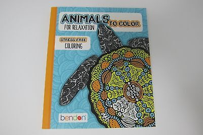 Animals to color for relaxation mini color book - Animals To Color
