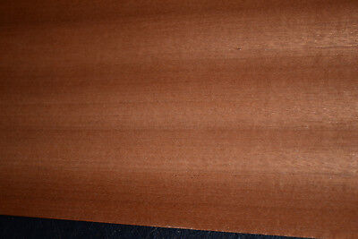 Sapele Ribbon Stripe Wood Veneer Sheets 5.5 X 33 Inches   6773-27