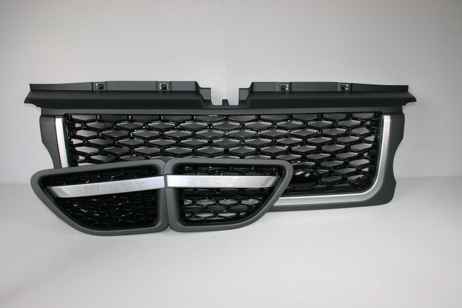 SVA Front Grille Gloss Black /& Chrome Trim  Fits Range Rover Vogue L322  2005-9