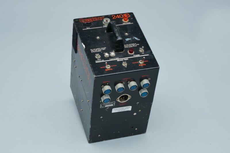 Speedotron 2401B 2400 Watt Power Pack for Studio Strobe Flash Lighting