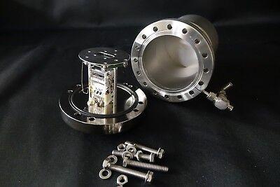 Bruker 6 Conflat Electron Multiplier For Mass Spectrometer High Vacuum Cf