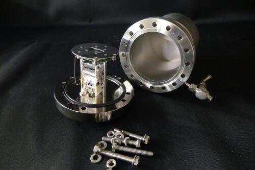 """Bruker 6"""" Conflat Electron Multiplier for Mass Spectrometer High Vacuum CF"""