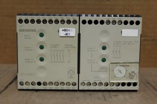 Siemens 3TK2807-0BB4 Contactor Unit