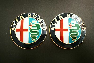 2 Fregio Stemma Logo Emblema Anteriore Alfa Romeo GTV 147 156 159...