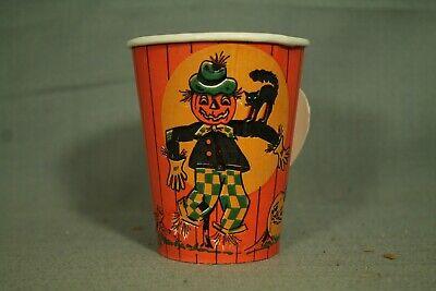 pier Tasse Schwarze Katze Vollmond Scarecrow Jack O Laterne (Schwarze Katze Halloween Mond)