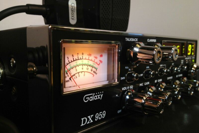 Galaxy DX-959 2-Way Radio 40 Channel CB Radio Galaxy DX959 SSB New