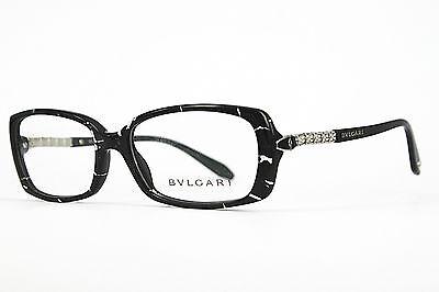Bvlgari Damen Brillenfassung 4048-B 5134  54mm schwarz weiss transparent 7 T 4