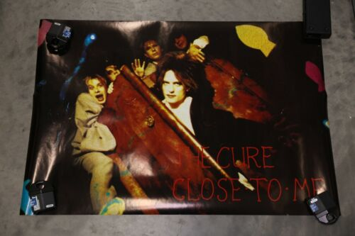 Rare The Cure Vintage Poster Close To Me Authentic Approx 33 x 22 inches