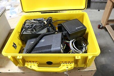 MOTOROLA BASE STATION CHARGER POWER SUPPLY PELICAN 1550 CASE Motorola Base