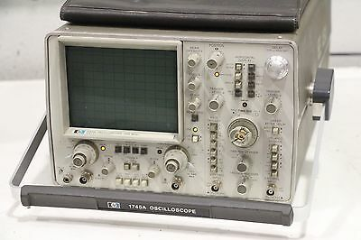 Hp Agilent Keysight 1745a Oscilloscope 100hz 100va