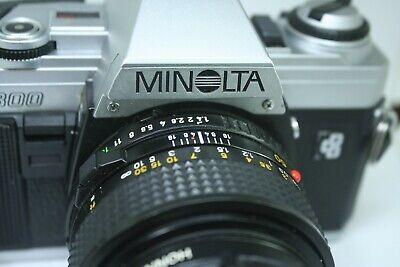 MINOLTA  X300  slr   film   camera  len,s   50mm  F1.4