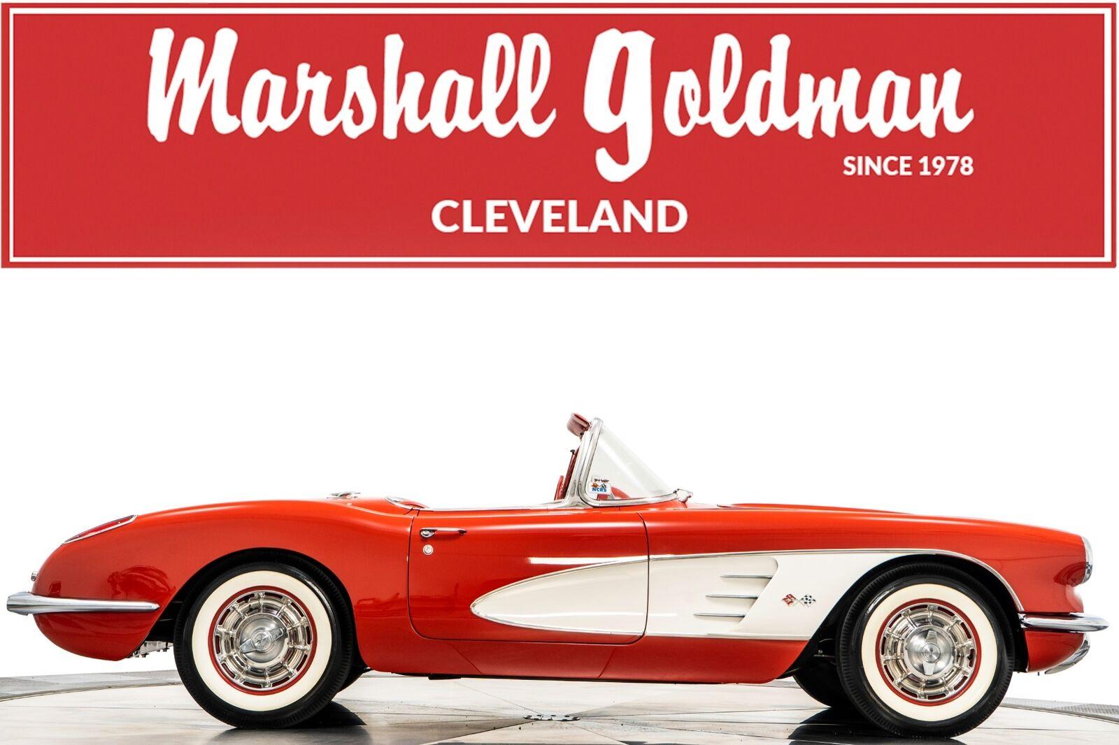 1960 Red Chevrolet Corvette   | C1 Corvette Photo 1