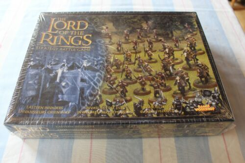 Games Workshop Lord of the Rings Easterling Invaders Army LoTR BNIB Sealed New