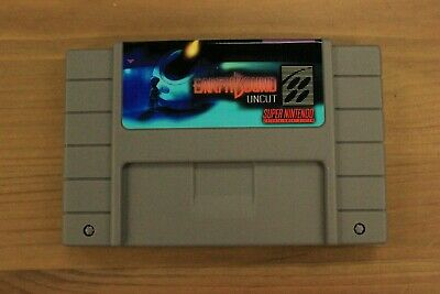 Used, Earthbound Uncut Homebrew Reproduction for SNES Super Nintendo  for sale  Toronto