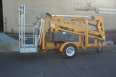Haulotte 3522a Electric Towable Lift 35 Height17.5reach Outriggers Nice