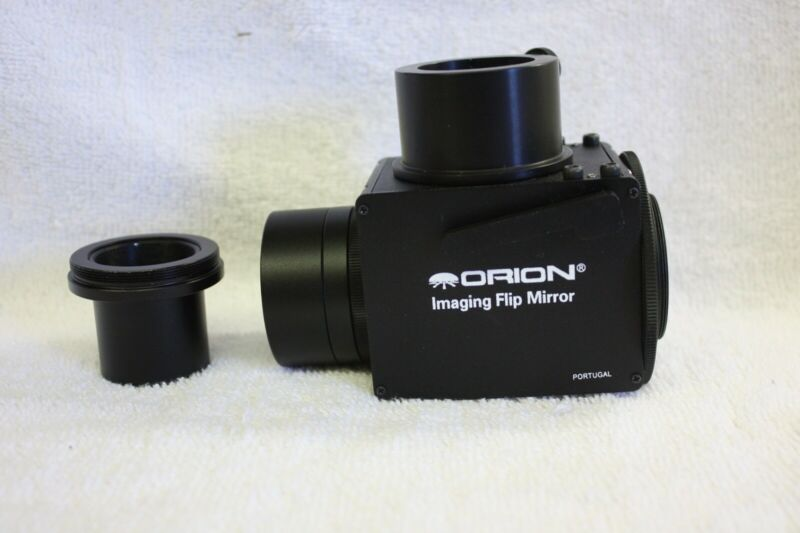 "Orion 2"" & 1.25"" Telescope Imaging Flip Mirror for CCD Film Astrophotography"
