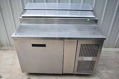 Randell 8148n 48 Refrigerated Raised Rail Pizza Prep Table