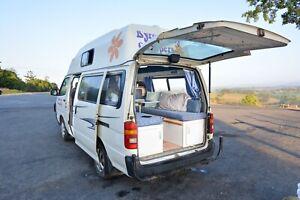 RENT Siesta Hiace high top 3 seater double bed camper van From$89 Tweed Heads Tweed Heads Area Preview