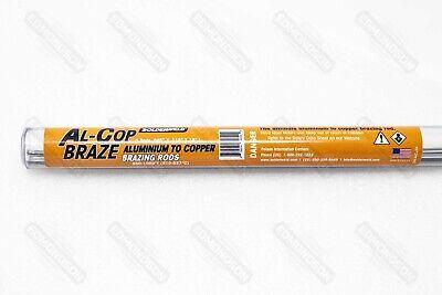Solderweld Sw-alcu5k Al-cop Braze - Aluminum To Copper Brazing Rod - Flux Core