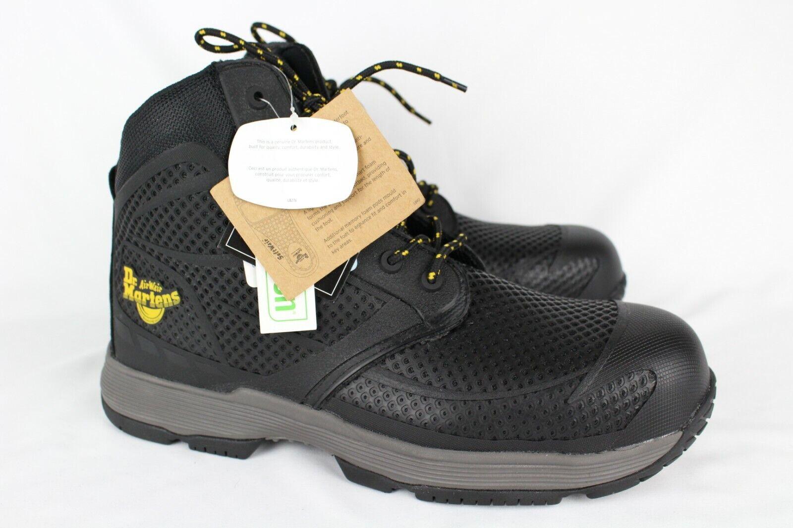 c460142a854 Details about New Dr. Martens Calamus EH Composite Toe Work Boots Size 12  Black