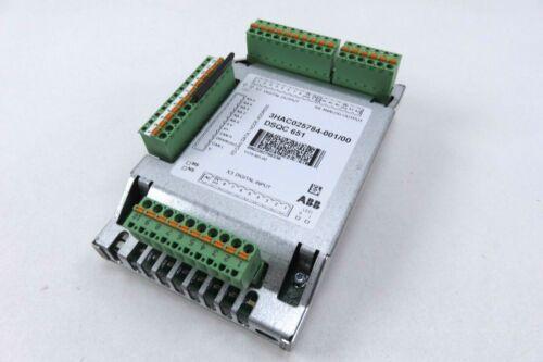 ABB DSQC 651 IRC5 Controller I/O Unit (PN 3HAC025784-001/00)