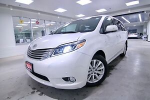 2016 Toyota Sienna LIMITED,ONE OWNER,CLEAN CARPROOF,NON SMOKER