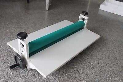 29.5 Manual Cold Roll Laminator Laminating Machine Vinyltape Mounting Applicat
