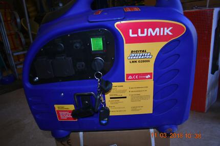 Generator 3.2 kva remote start