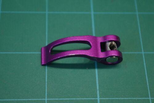 Eclipse feedneck lever. Dust purple. RARE!