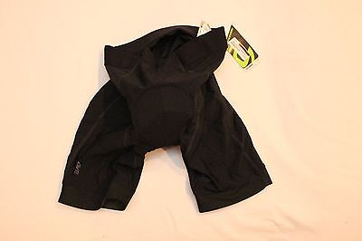 New Cannondale Men's Performance 2 Cycling Bike Shorts Medium Black NWT $80 M