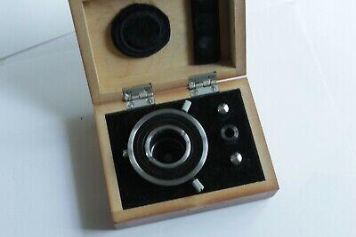 Lomo Microscope Dark Field Dunkelfeld Condenser Oi - 2 Na 1.15 Mikroskop