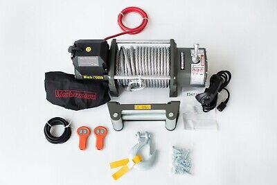 17000 LB 7,7t 12 Volt MACHERMANN BRAND ELECTRIC WINCH machermann 12v, pulling