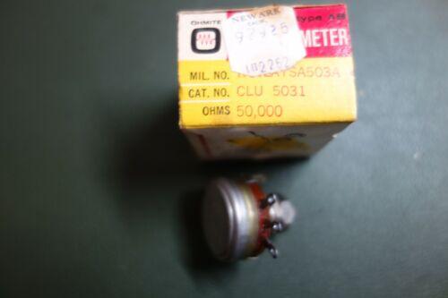 Allen Bradley RV4LAYSA503A - 50K 2W Locking Potentiometer
