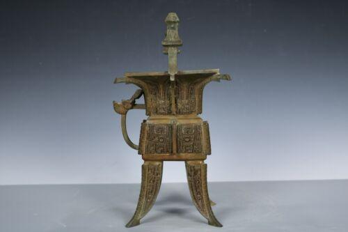 Chinese Beautiful Bronze Wine capacity