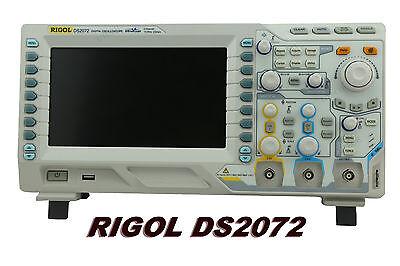Rigol Digital Oscilloscope Ds2072a 2ch 2gsas 70mhz 8 Tft 800x480 50k Wfss