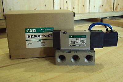 Ckd Selex Valve Pilot-type 5-port 4kb210-08-ac100v