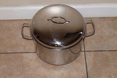 Williams Sonoma Stainless Sword 18/10, 8 qt Dishwasher Safe w/Steamer