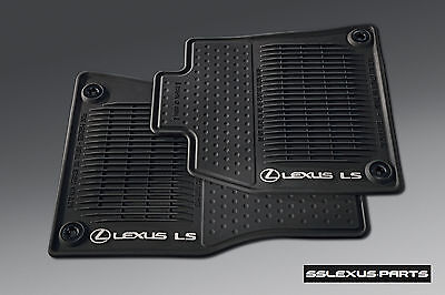 Lexus LS460 (2013-2017) (RWD / Short Wheel Base) 4pc ALL WEATHER FLOOR MATS OEM