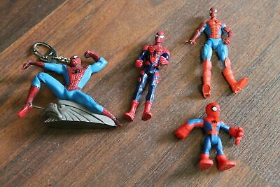 Lot of 4 Marvel Spiderman Action Figures