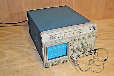 Tektronix 2465bdv Oscilloscope - 400mhz 4ch With Dmm - 2465b