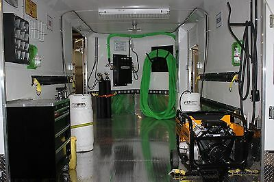 Nitrosys Low Pressure Heated Low Pressure Spray Foam Rig W Auto Calibration 210
