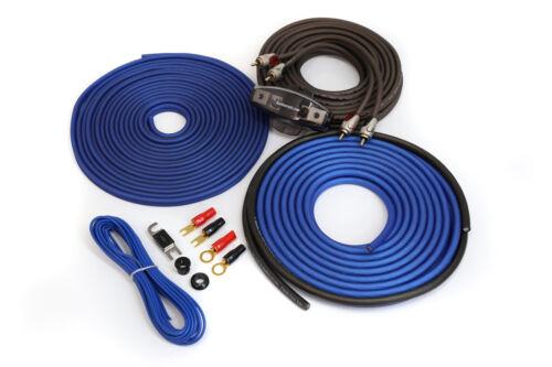 KnuKonceptz Complete TRUE 8 Gauge Kolossus Oxygen Free Copper Amp Kit OFC AWG