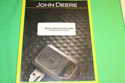 John Deere ATU Steering Kit Installation Intructions Manual PC20864 (05Jul07)